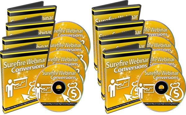 Surefire Webinar Conversions PLR Videos