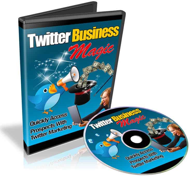 Twitter Business Magic PLR Videos