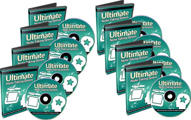 Ultimate Note Taking System PLR Videos
