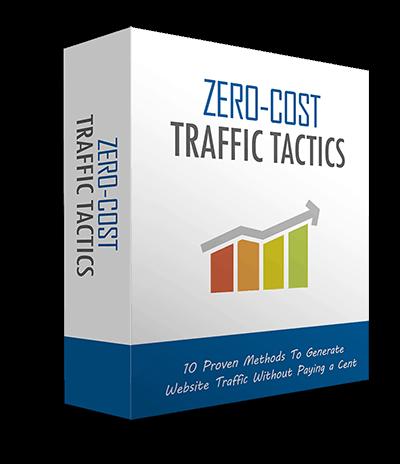 Zero Cost Traffic Tactics MRR Ebook