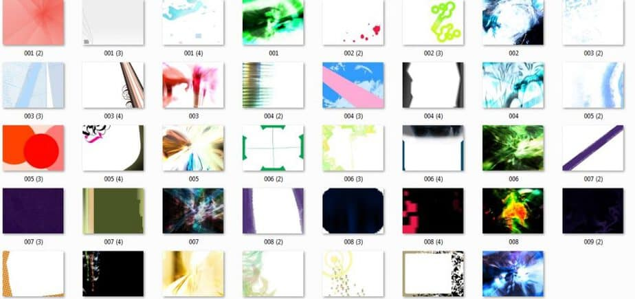 Abstract Images Pack Preview