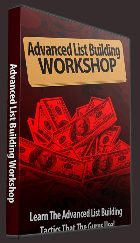 Advanced List Building Workshop