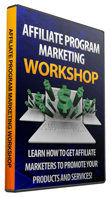 Affiliate Program Marketing Workshop