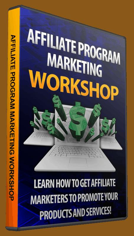 Affiliate Program Marketing Workshop