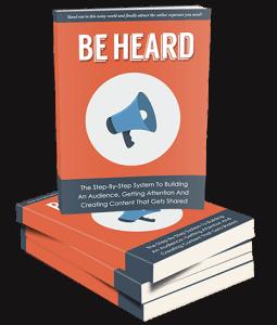 Be Heard eBook Stacked