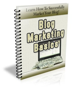 Blog Marketing PLR Newsletter eCourse