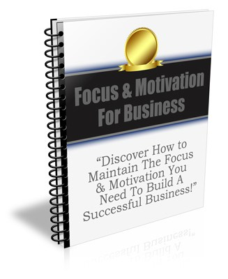Business Focus and Motivation PLR Newsletter eCourse
