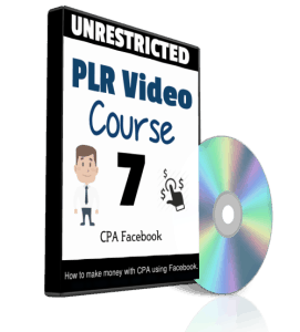 CPA Facebook Unrestricted PLR Video Course