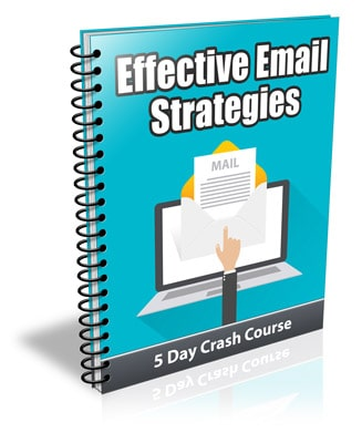 Effective Email Marketing Strategies PLR Newsletter eCourse