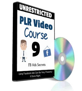 FB Ads Secrets Unrestricted PLR Video Series