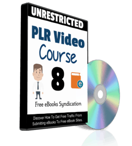 Free eBooks Syndication PLR Video Course