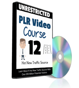 Hot New Traffic Source Unrestricted PLR Videos