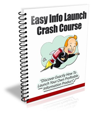 Info Product Launch PLR Newsletter eCourse