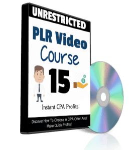 Instant CPA Profits Unrestricted PLR Videos