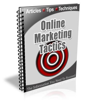 Internet Marketing Tactics PLR Newsletter eCourse