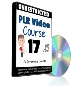 JV Giveaway Events PLR Videos
