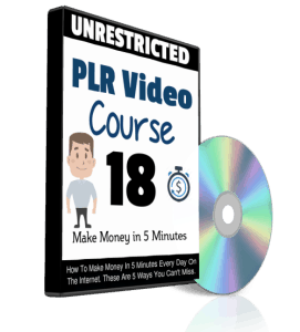 Make Money in 5 Minutes Unrestricted PLR Videos