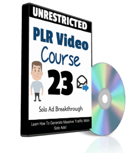 Solo Ad Breakthrough PLR Videos
