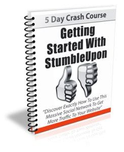 StumbleUpon PLR Newsletter eCourse