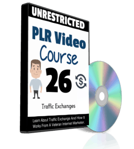 Traffic Exchanges Unrestricted PLR Video Series