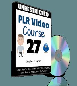 Twitter Traffic PLR Videos