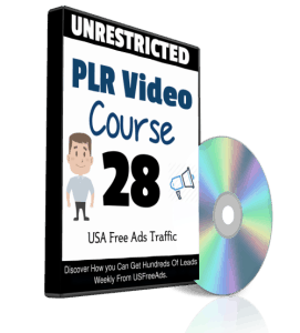 USA Free Ads Traffic PLR Video Series