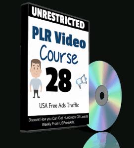 USA Free Ads Traffic PLR Video Series