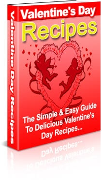 Valentines Day Recipes PLR Ebook