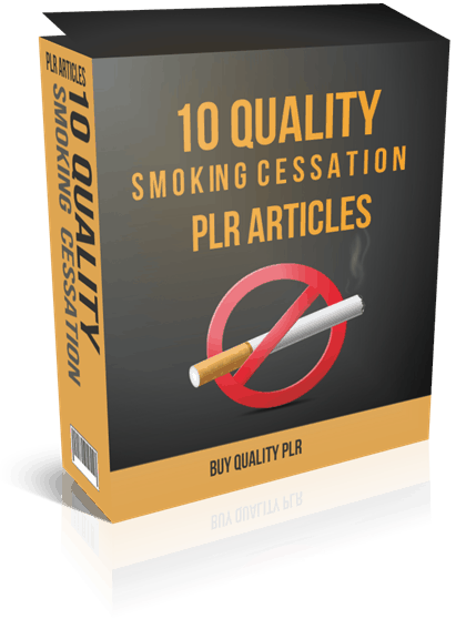 10 Quality Smoking Cessation PLR Articles