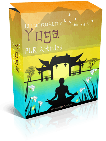 10 Top Quality Yoga PLR Articles
