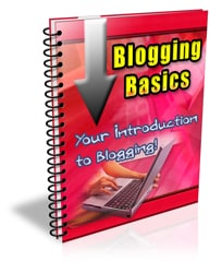 Blogging Basics PLR Newsletter eCourse