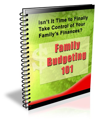 Family Budgeting PLR Newsletter eCourse
