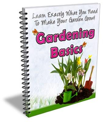 Gardening Basics PLR Newsletter eCourse