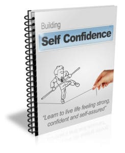Building Self Confidence PLR Newsletter eCourse