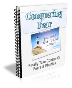 Conquering Fear PLR Newsletter eCourse