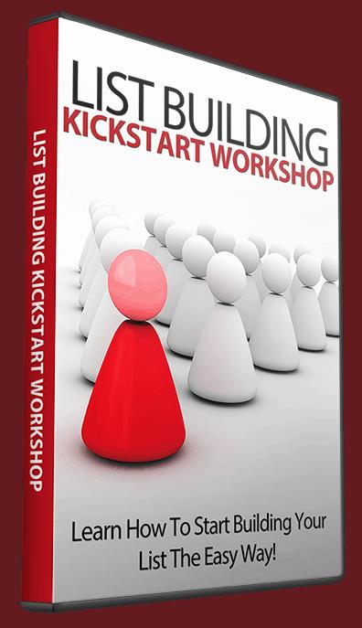 List Building Kickstart Coaching Workshop Resell Rights Videos
