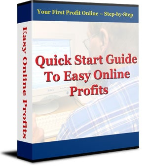 Quick Start Guide to Easy Online Profits PLR eBook