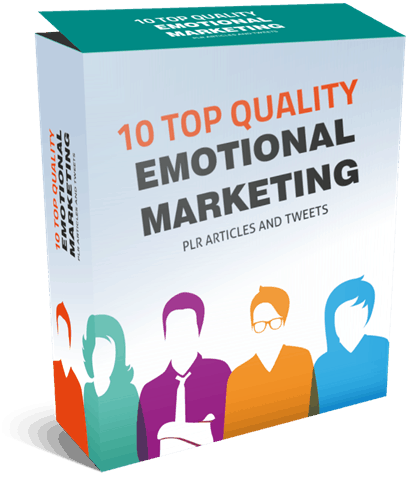 10 Top Quality Emotional Marketing PLR Articles and Tweets