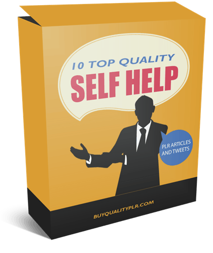 10 Top Quality Self Help PLR Articles And Tweets