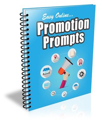 Easy Online Promotion Prompts PLR Newsletter eCourse