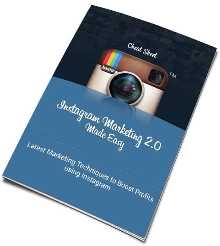 Instagram Marketing 2.0 CheatSheet
