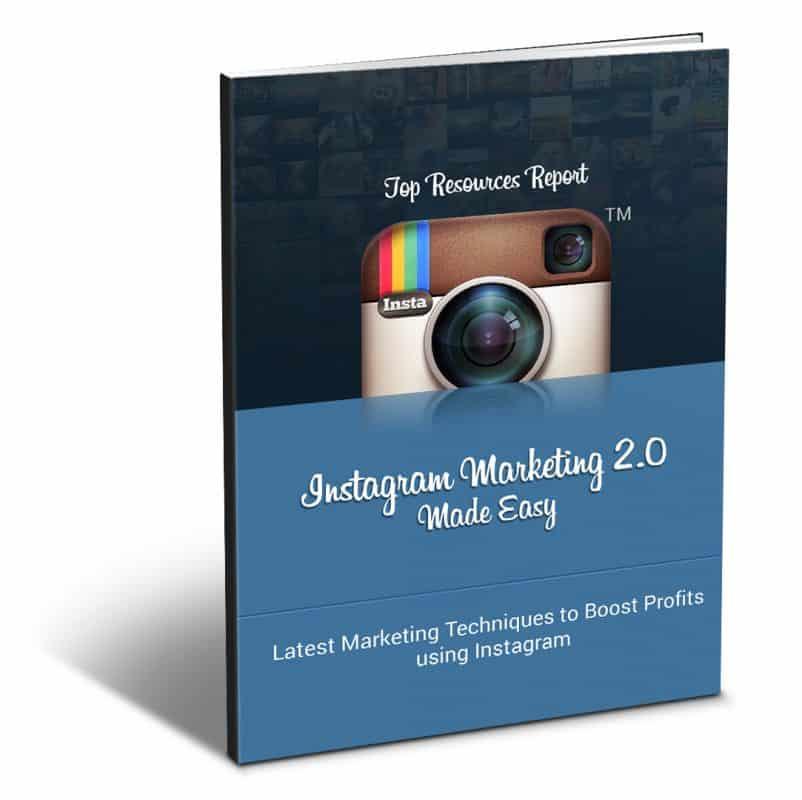 Instagram Marketing 2.0TopResourcesReport