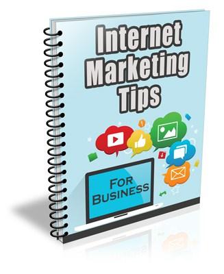 Internet Marketing Tips for Business PLR Newsletter