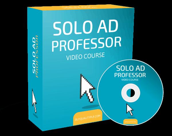 Solo Ad Professor Video Course