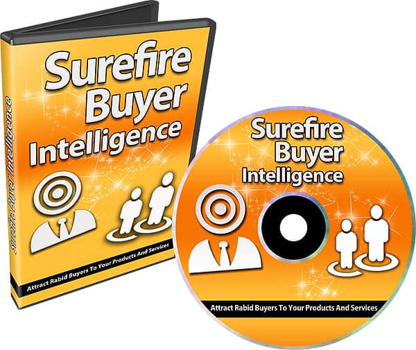 Surefire Buyer Intelligence Video Course