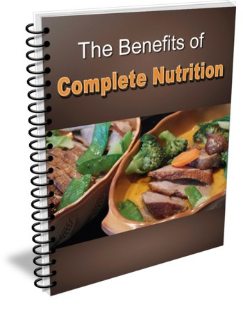 The Benefits of Complete Nutrition PLR Report