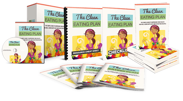 The Clean Eating Plan Ebook Package Master Resell Rights Bundle