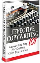 Effective Copywriting 101 PLR Ebook