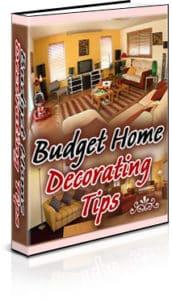 Budget Home Decorating Tips PLR Ebook