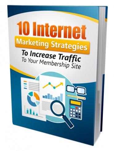 Strategies Increase Membership Traffic PLR Ebook